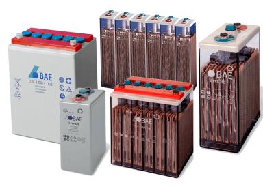 Baterias BAE